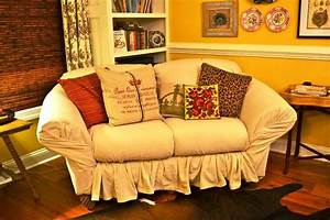 diy couch cover from sheet radionigerialagoscom With sheets to cover furniture