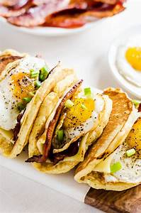 American Breakfast Tacos aka Pacos | Recipe | Melted ...