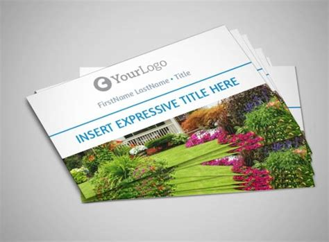 10+ Best Landscaping Business Card Templates Business Proposal Card Creator Free Moo In French Template Ai Cards Nottingham Logo Maker Harare
