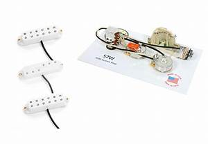 Duncan Everything Axe Guitar Pickup Set  White   920d S7w