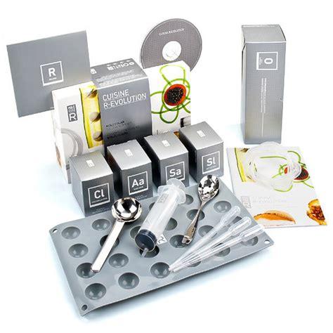 kit de cuisine kit de cuisine moléculaire r évolution livre saveurs