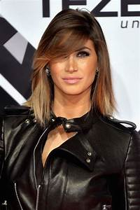 Balayage Cheveux Bouclés : coupe frange balayage ~ Dallasstarsshop.com Idées de Décoration