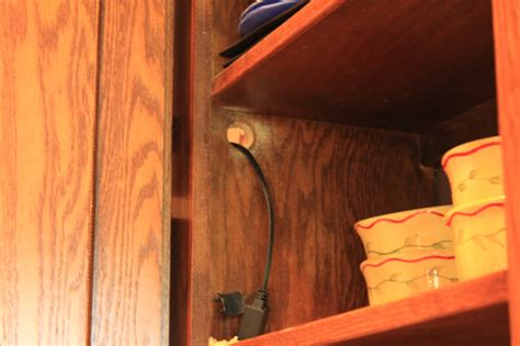 another easy update cabinet lighting decorchick