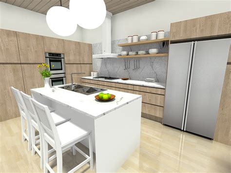 open wall cabinets kitchen 7 kitchen layout ideas that work roomsketcher 3753