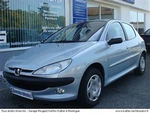 Peugeot 206 Essence : peugeot 206 1 6l 16v essence 2001 occasion auto peugeot 206 ~ Medecine-chirurgie-esthetiques.com Avis de Voitures