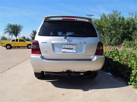Toyota Highlander Hitch by 2006 Toyota Highlander Factory Trailer Hitch