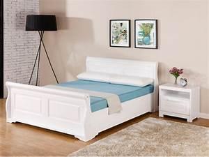 Lit 180x200 Pas Cher : lit pas cher 140x190 maison design ~ Melissatoandfro.com Idées de Décoration