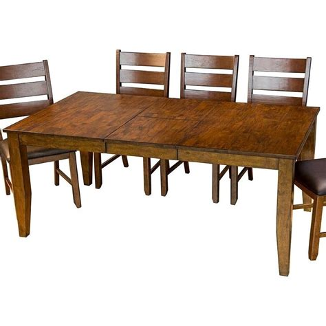 aamerica mason rectangular butterfly leaf dining table  city furniture dining tables