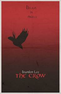"The Crow ""minimalist"" poster 