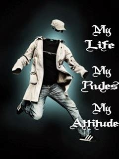 life  rules  attitude wallpapers hd gallery