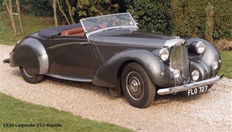 Lagonda Automobiles History from 1906 to 1940