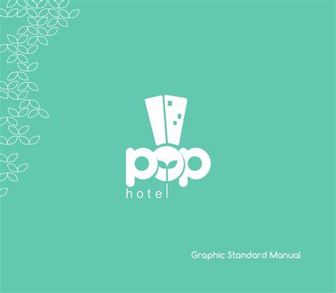 pop hotel graphic standard manual  shabrina astrilia