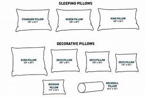 pillow buying guide what to consider when buying a new With body pillow size chart