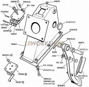 Pedal And Bracket - Vehicles With Servo