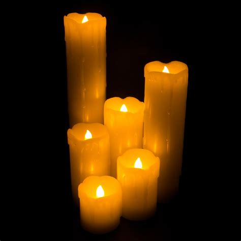 flickering led candle lights led light flickering flameless candles with realistic faux
