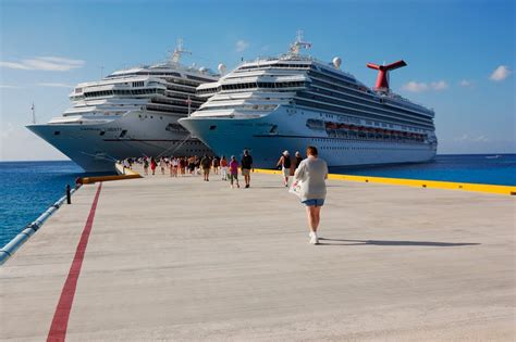 Panoramio - Photo Of Cruise Ship Dock Cozumel Mexico