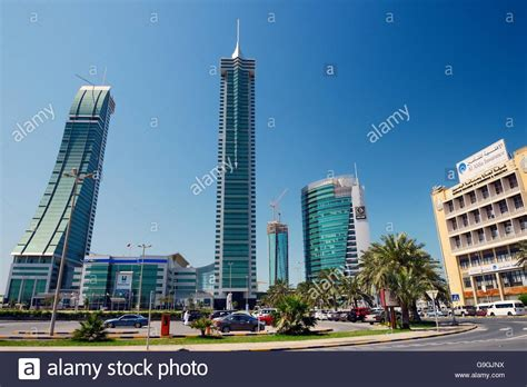 Bahrain Financial Harbour BFH development in Manama, the ...