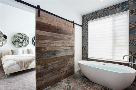 Modern Bathroom With Wood Tile by Top 10 Tile Design Ideas For A Modern Bathroom For 2015