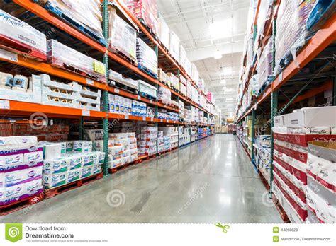 aisle   costco store  napkins towels