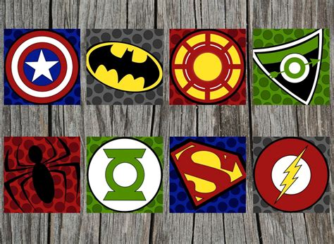 superhero logos for printing request a custom order and have something made just for you