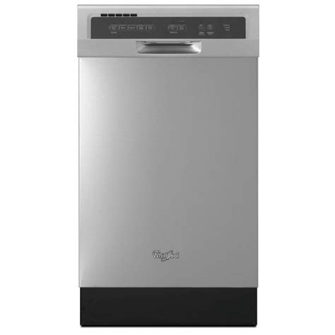 whirlpool wdfsafm stainless steel  dishwasher