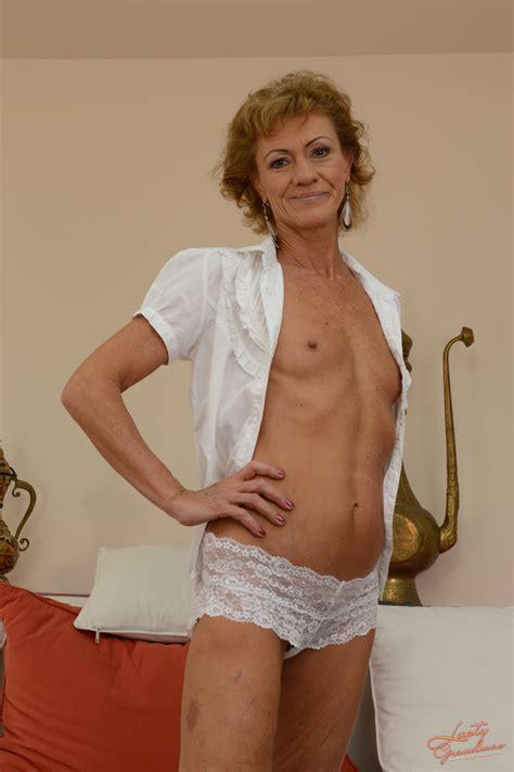 26396 H 004 In Gallery Skinny Granny Katherin Gets Her