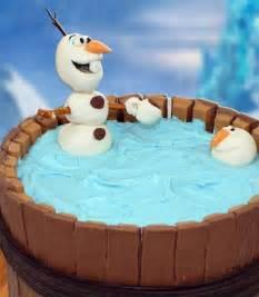 Olaf Kit Kat Cake