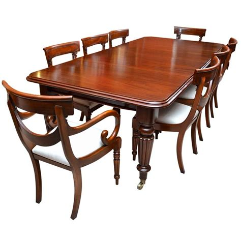 mahogany dining table glossy antique mahogany dining table and chairs dining room ideas 7321