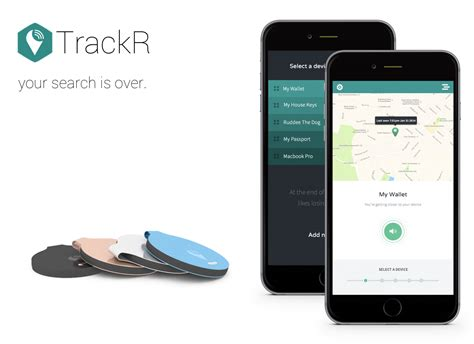 tracking iphone trackr has a new app for ios and android news central