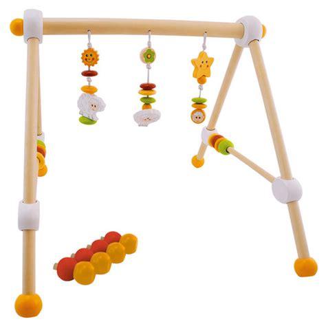 baby trapez holz bieco spiel trapez baby aus holz h 246 henverstellbar sch 228 fchen betty babyartikel de