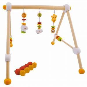Activity Spielzeug Baby : bieco spiel trapez baby gym aus holz h henverstellbar ~ A.2002-acura-tl-radio.info Haus und Dekorationen