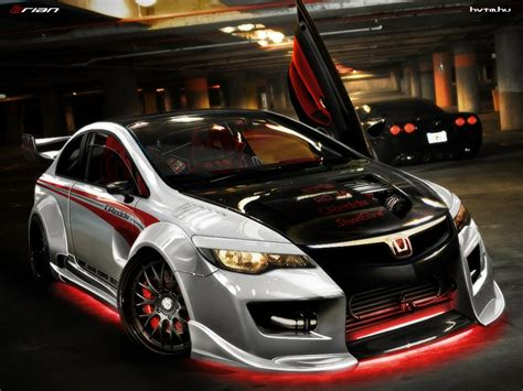 Honda Civic Hatchback Modified Interior