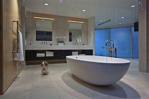 fabulous modern interior in southern california With bathroom in middle of house
