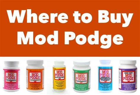 Where To Buy Mod Podge  Mod Podge Rocks