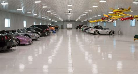 morton buildings hobby garage interior  ixonia