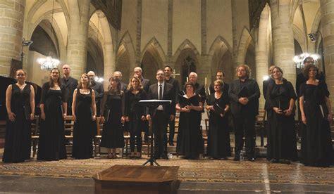choeur de chambre de demain dimanche à 17h concert avec le chœur de chambre de