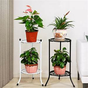 Wrought, Iron, Plant, Stands, Indoor, Outdoor, Metal, Tall, Plant, Stand, Iron, Flower, Stand, Pot, Holder