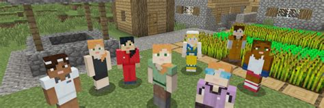 minecraft adds  female avatar  console versions