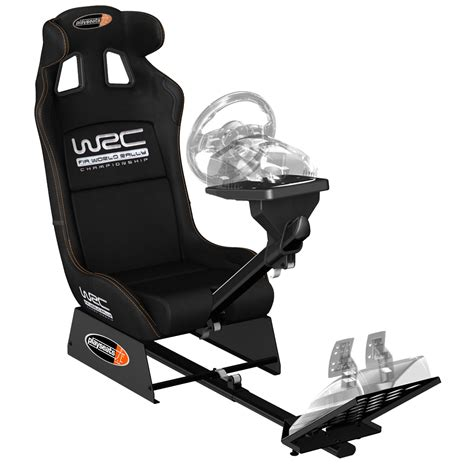 siege volant pc playseats wrc siège simulation automobile noir base noir