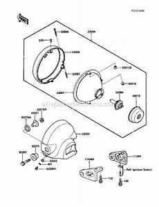 Kawasaki En450-a2 Parts List And Diagram