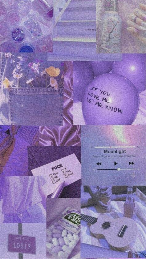 aesthetic wallpaper estetik warna ungu