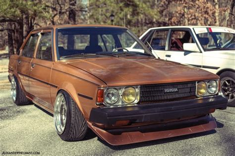 stanced toyota corolla toyota corolla stance stanced cars pinterest