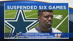 NFL Conference Call Regarding Cowboys RB Ezekiel Elliott ...
