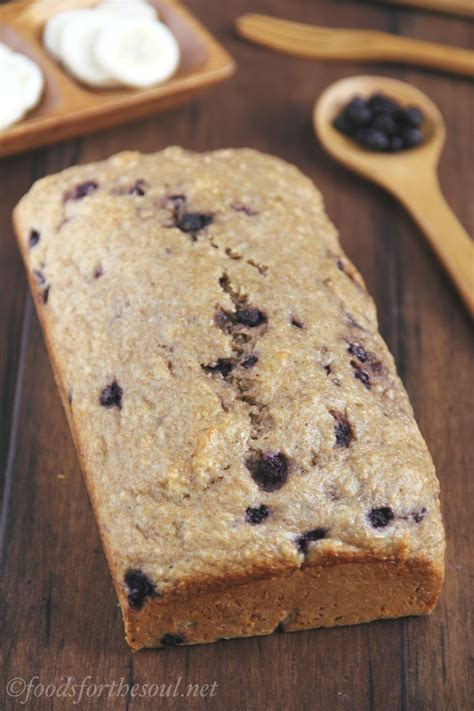 Whole Wheat Blueberry Banana Bread   Amy's Healthy Baking