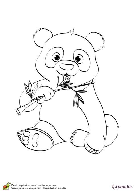 jeux gratuit de cuisine en francais dessin à imprimer et à colorier d un panda avec un bambou