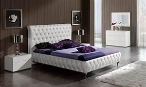 Adriana modern bedroom set for Bedroom set modern