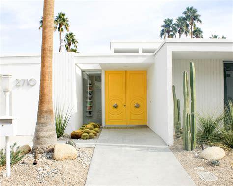 Door Springs Yellow by The Doors Of Palm Springs Design