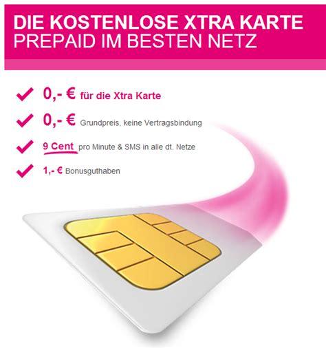 kostenlose telekom prepaid karte fuer neukunden
