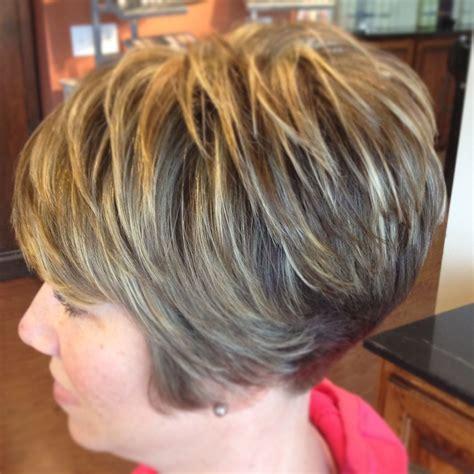 bold blonde highlights   sort sassy cut designs