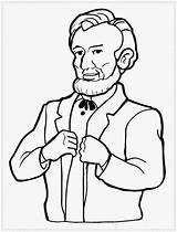 Coloring Presidents Printable President Sheet sketch template